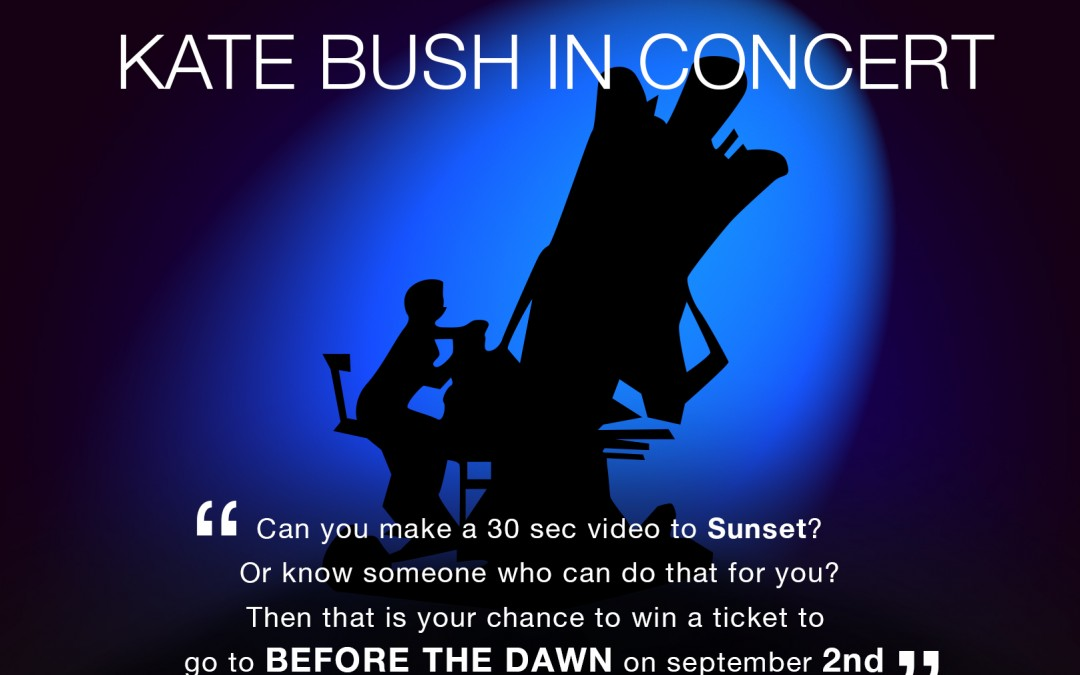 Win a ticket to KATE BUSH in concert – by Cloudbusting