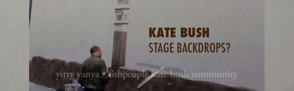 Leaked stage art from Kate Bush – Before The Dawn?