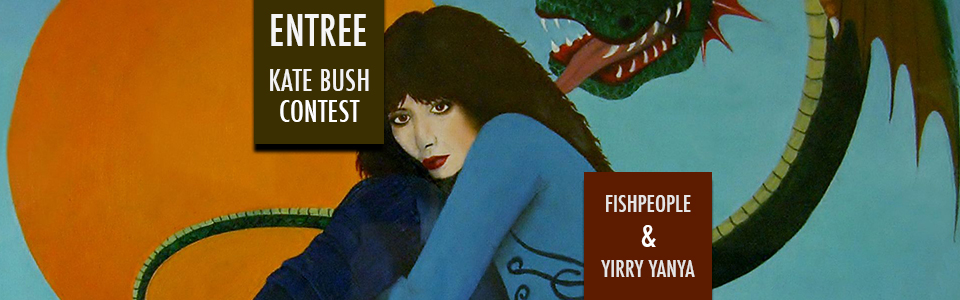 Kate Bush Illustration – entree for the contest by Brian Swanson